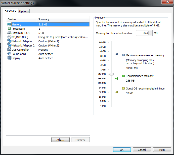 Installing FreeNAS into VMware Workstation Pt2 – marcjenkins blog