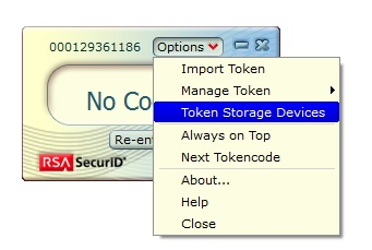 RSA SecurID: The token database on your hard drive is