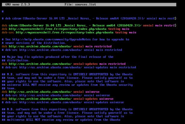 Setting up SFTP on Ubuntu Server 16 04 LTS – marcjenkins blog