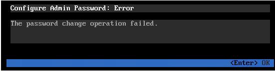 "The password change operation failed"" on VCSA – marcjenkins blog"